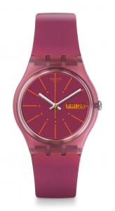 Swatch Sneaky Peaky Purple Ladies' Watch