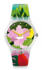 Swatch Tropical Garden Floral Unisex Watch SUOK132