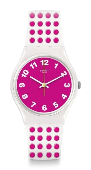 Swatch Pink Dots Unisex Watch GW190
