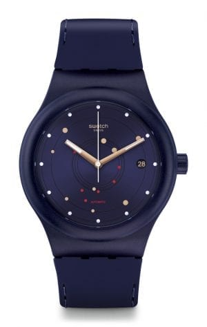 Swatch Sistem Sea Flex Navy Blue Automatic Men's Watch