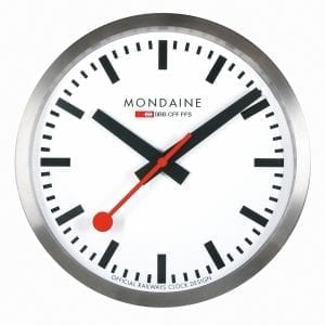 Mondaine Swiss Railways 25cm Wall Clock