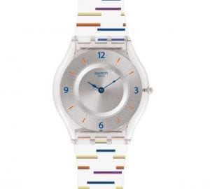 Swatch Thin Liner Unisex Watch SFE108