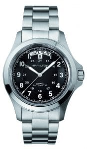 Hamilton Khaki Field Automatic Mens Watch Black