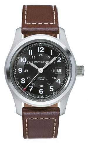 Hamilton Khaki Field Automatic Mens Watch Black