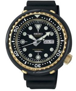 Seiko Limited Edition Prospex Sea 1978 Re-Creation Gold PVD Tuna Case Divers Men's Watch S23626J1