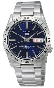 Seiko 5 Automatic Blue Dial Stainless Steel Men's Watch SNKD99K1