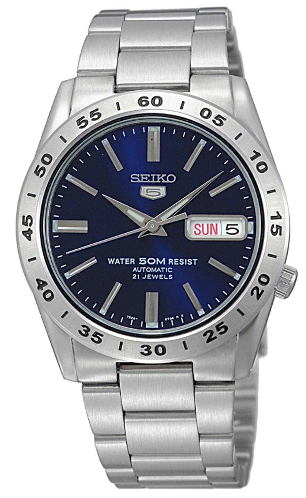 82f16c2a1 ... Seiko 5 Automatic Blue Dial Silver Stainless Steel Mens Watch SNKD99K1  37mm. Sale! 🔍. show more pictures