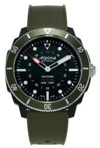 Alpina Seastrong Green Men's Smartwatch