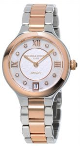 Frederique Constant Classics Delight Stainless Steel Rose Gold Ladies' Diamond Watch (FC-306WHD3ER2B)