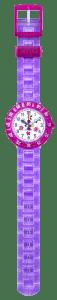 Flik Flak Power Time Purple Garden Kids' Watch