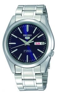 Seiko 5 Automatic Blue Dial Stainless Steel Men's Watch SNKL43K1