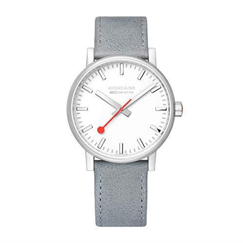 Mondaine evo2 Big Grey Strap Men's Watch MSE.40110.LH