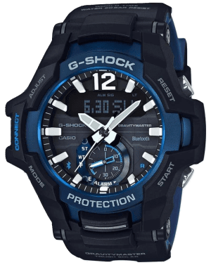 Casio G-Shock Master of G Gravitymaster Bluetooth Tough Solar Men's Watch GR-B100-1A2ER