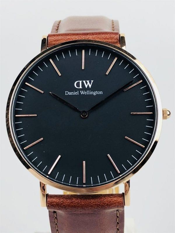 Preowned Daniel Wellington Classic Black St Mawes Watch DW00100124