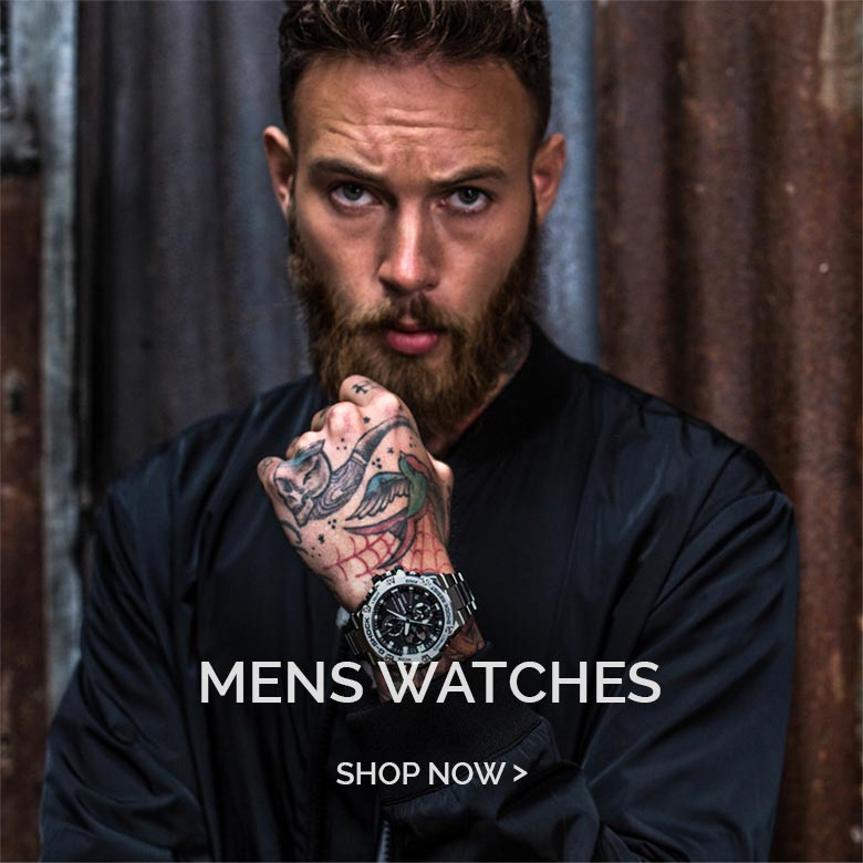 Mens Watches square