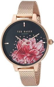 3fd431ad8ef0 Ted Baker Kate Rose Gold Tone Steel Case Rose Gold Mesh Strap Ladies Watch  TE50005027 36mm