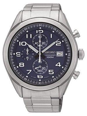 Seiko Sports Quartz Chronograph Mens Watch SSB267P1 45mm