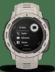 Garmin Instinct Tundra Mens Smartwatch 010-02064-01 45mm