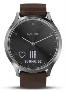 Garmin Vivomove Premium Heart Rate Smartwatch 010-01850-04 43mm
