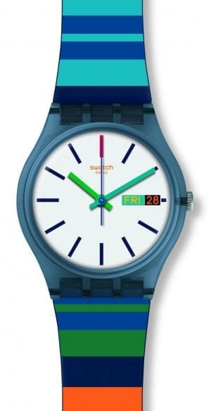 Swatch Colour Crossing Unisex Watch GN724