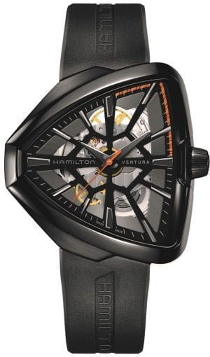 Hamilton Limited Edition Ventura Skeleton 'Spiderman' Automatic Mens Watch H24595331