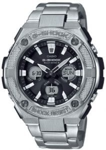 Casio G-Shock G-Steel Military Street Solar Radio Controlled Mens Watch GST-W330D-1AER 52mm