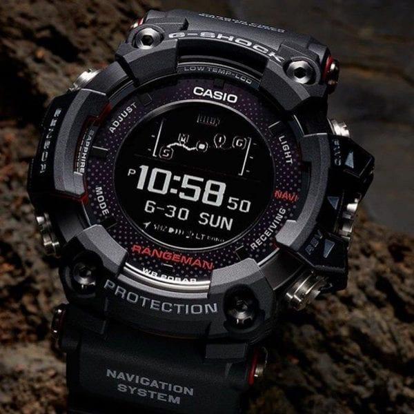 Casio G-Shock Master of G Rangeman Men's Alarm Chronograph (GPR-B1000-1ER)
