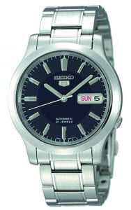 Seiko 5 Automatic Stainless Steel Blue Dial Men's Watch SNK793K1