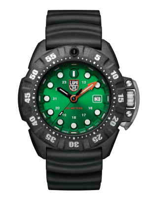 Luminox Deep Dive Green Dial Black CARBONOX Quartz Men's Watch XS.1567
