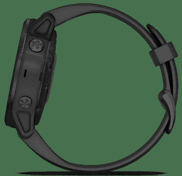Garmin Fenix 6S Black Silicone Strap Quartz Men's Smartwatch 010-02159-14