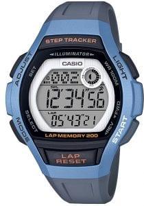 Casio Collection Sport Light Blue Steptracker Ladies Watch LWS-2000H-2AVEF 38mm