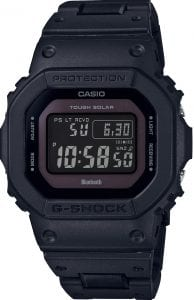 Casio G-Shock Solar Digital Bluetooth Solar Black Resin Mens Watch GW-B5600BC-1BER 48mm