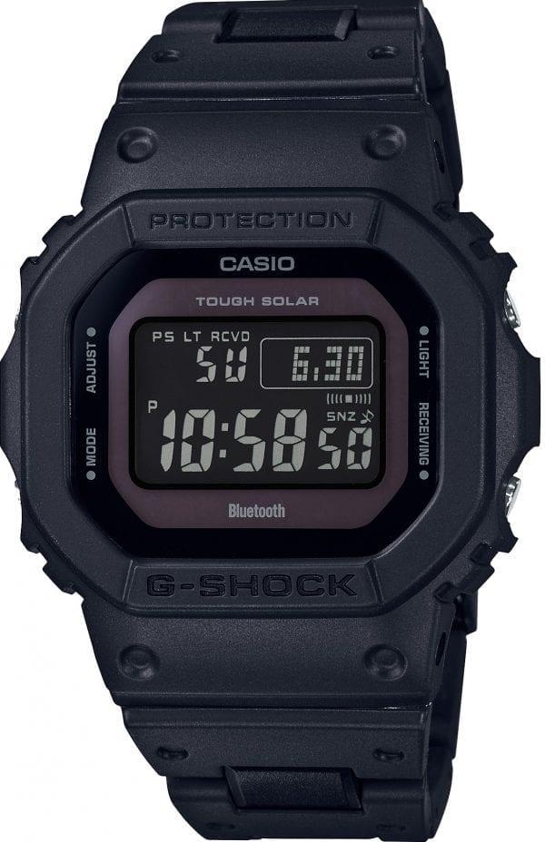 Casio G-Shock Solar Digital Bluetooth Solar Black Resin Mens Watch GW-B5600BC-1BER 48mm