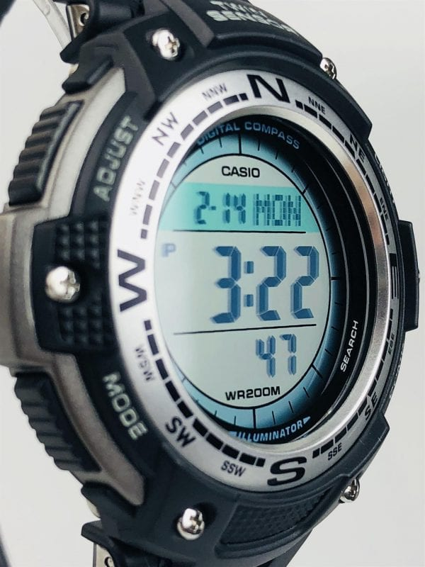 Casio Collection Twin Sensor Men's Alarm Chronograph SGW-100-1VEF