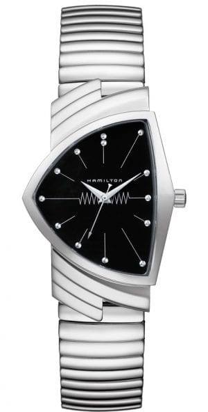 Hamilton Ventura Flex Quartz Stainless Steel Men's Watch H24411232