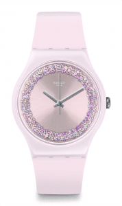 Swatch Pinksparkles Ladies' Watch SUOP110