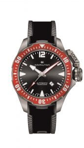 Hamilton Khaki Navy Automatic Mens Watch Black