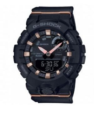 Casio G-Shock S Series Black Resin Bluetooth Quartz Ladies Watch GMA-B800-1AER