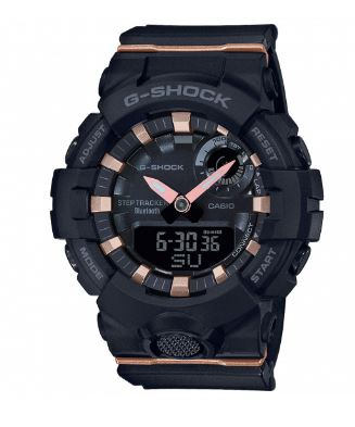 Casio G-Shock S Series Black Resin Bluetooth Quartz Ladies Watch GMA-B800-1AER