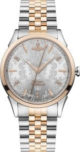 Vivienne Westwood Wallace Stainless Steel Rose Gold Ladies' Watch VV208RSSL