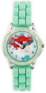 Disney Princess Ariel Quartz Green Time Teacher Girls Watch