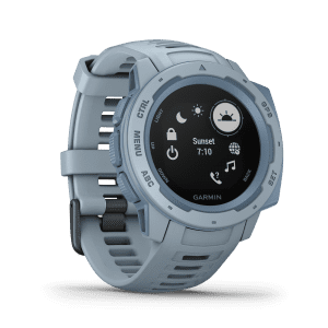 Garmin Instinct Seafoam Outdoor GPS Light Blue Mens Smartwatch 010-02064-05 45mm