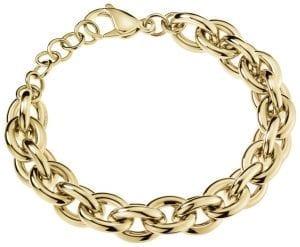 Calvin Klein Statement Gold PVD Stainless Steel Ladies Bracelet