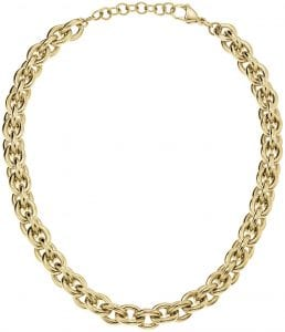 Calvin Klein Gold PVD Stainless Steel Ladies Necklace Jewellery