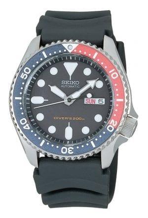 Seiko Divers Automatic Blue Dial Rubber Strap Men's Watch SKX009K1
