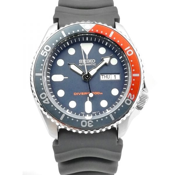Seiko Modified Divers 200m Automatic 'Piranha' Bezel Mens Watch SKX009K1-MOD2 42mm