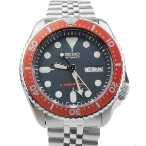 Seiko Modified Divers 200m Automatic 'Tiger' Bezel Mens Watch 42mm