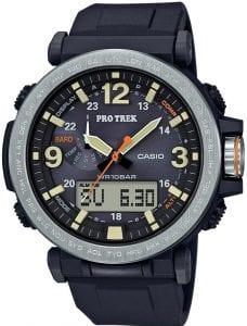 Mens Casio Pro-Trek Alarm Chronograph Watch