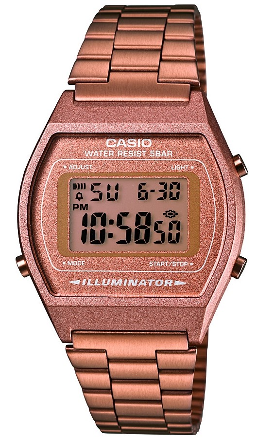 Casio Classic Alarm Chronograph Ladies WatchB640WC-5AEF