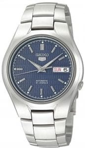 Seiko 5 Automatic Stainless Steel Blue Dial Men's Watch SNK603K